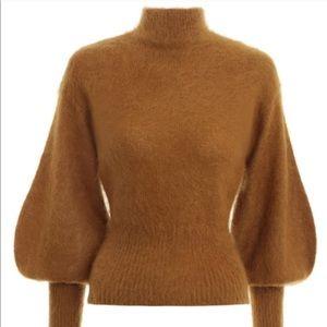 NWT Zimmermann Espionage Mohair Bell Sweater